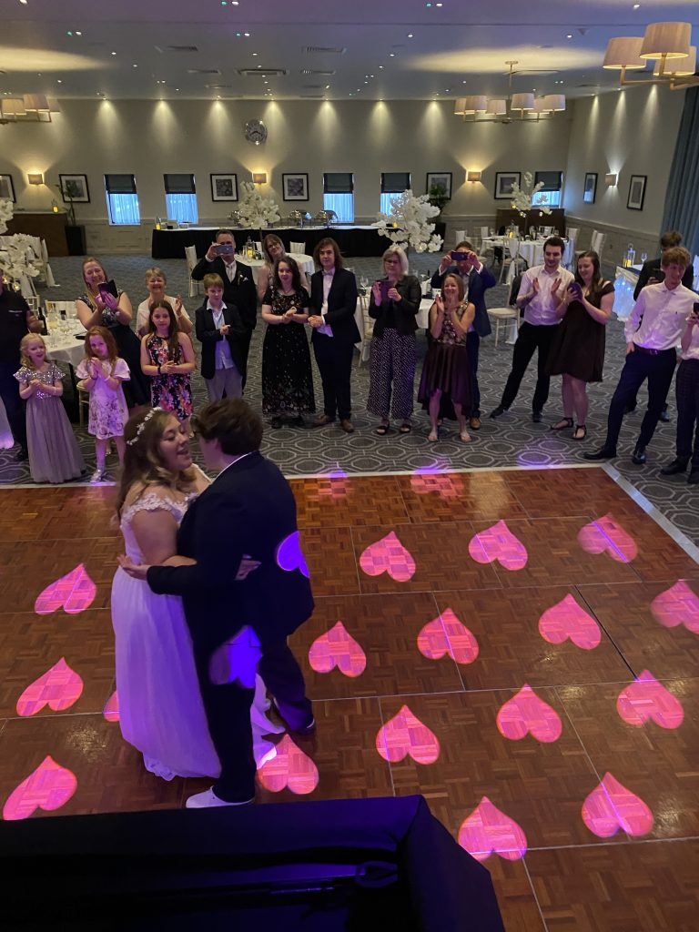 -DJ-Wedding-Disco-Photo-booth-dance-floor-sparks-dry-ice-confetti-love-letter-hire-2