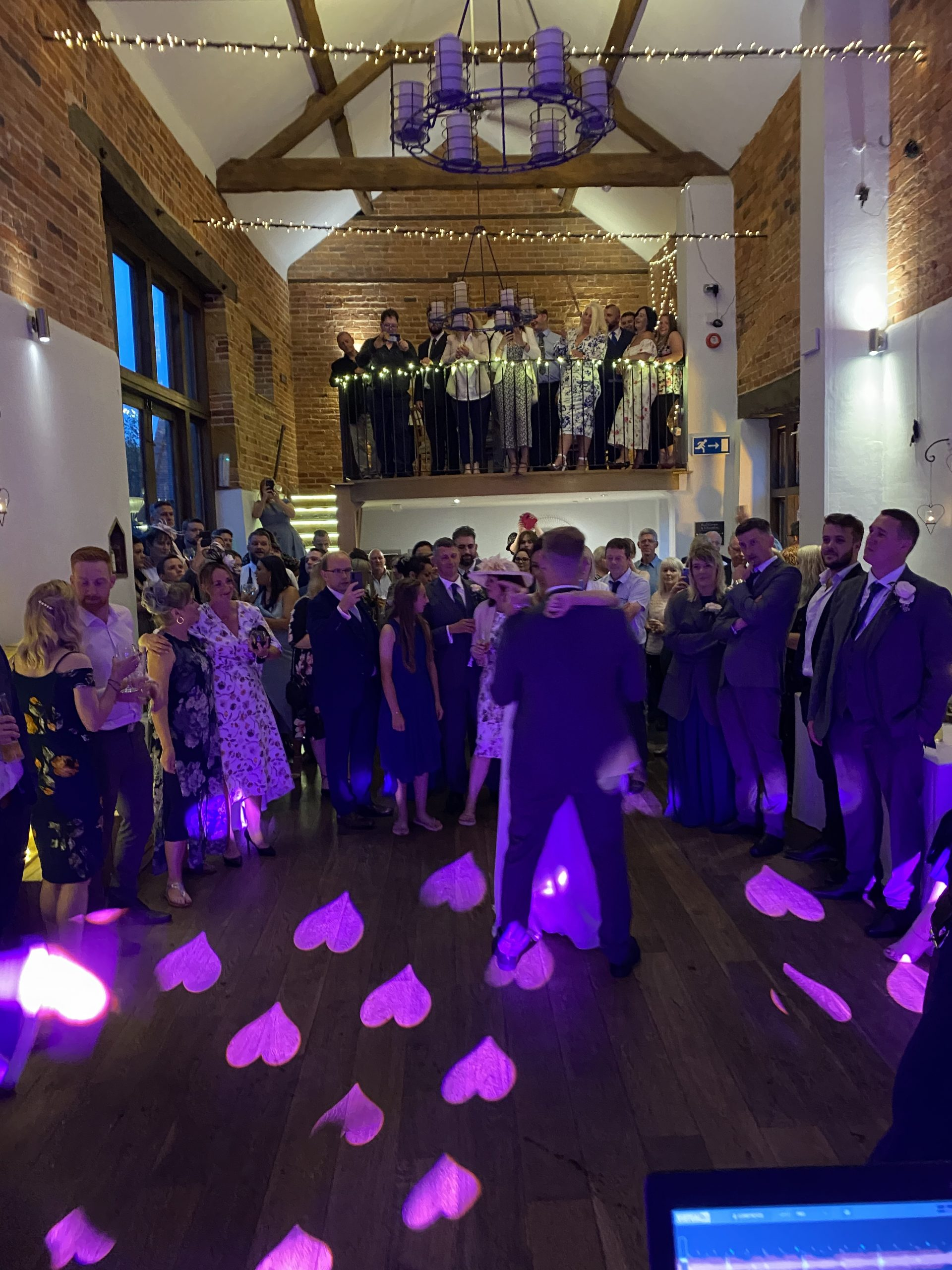 -DJ-Wedding-Disco-Photo-booth-dance-floor-sparks-dry-ice-confetti-love-letter-hire-7